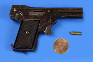 an example of miniature pistol