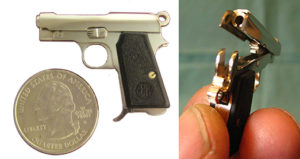 miniature shooting gun by bob urso beretta