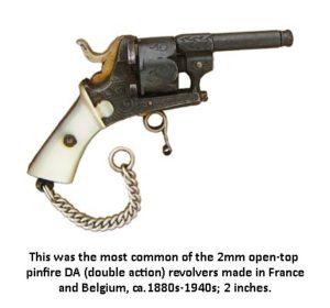 Double action mini revolver