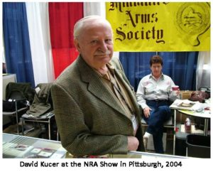 David Kucer at the show
