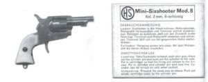 Schmid 2mm pinfire revolver