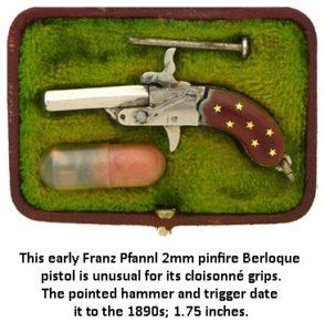 Berloque Austrian handgun