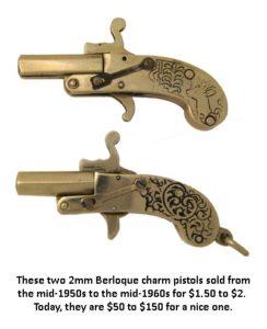 Berloque new age handgun