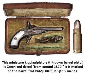 Chech mini handgun