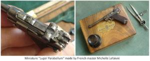 miniature Luger parabellum