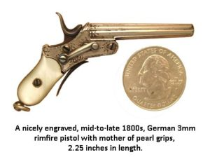 one of the first perkussion pistols
