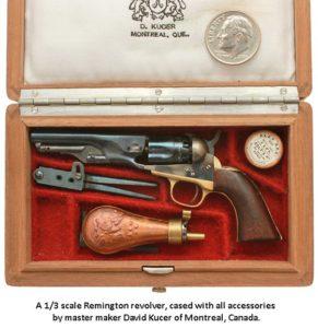 Remington pistol by David Kucer