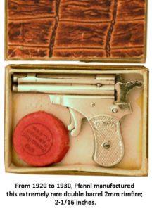 two shot pistol by Pfannl