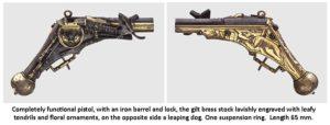 wheellock pistol by Michael Mann