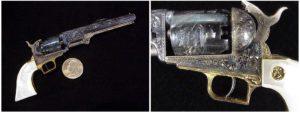 miniature Colt 1851 Navy Uberti