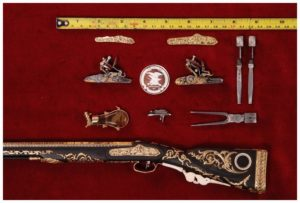 miniature guns for sale, Antonio Rincon's copy of Boutet work