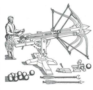 Мiniature guns that work ballista scheme