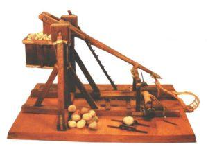 Мiniature guns that work trebuchet