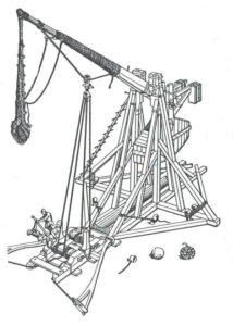 Мiniature guns that work trebuchet sketch