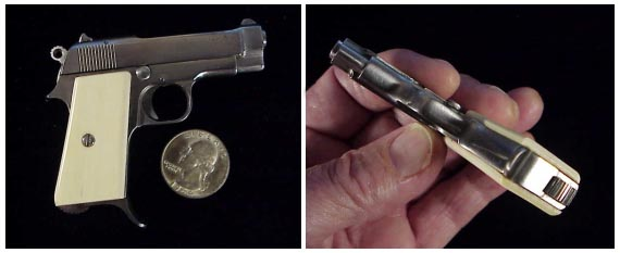 2 mm gun: miniature shooting Beretta